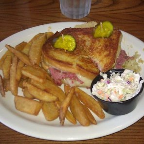 Cracker Barrel Grilled Reuben Platter