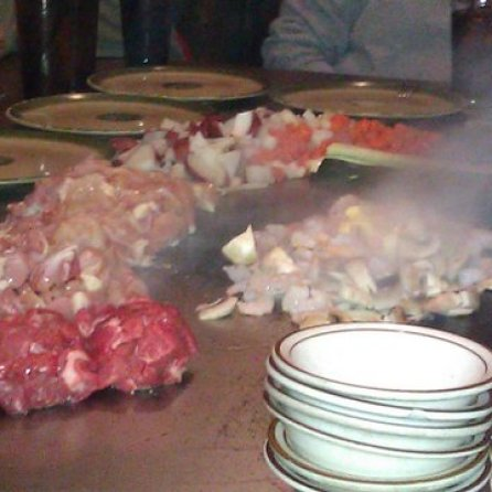 Japanese Steakhouse meat