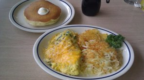 IHOP Spinach & Cheese Egg Scramble