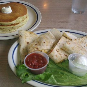 IHOP Chicken Fajita Quesadilla