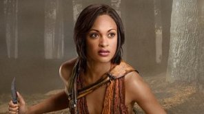 Naevia from Spartacus