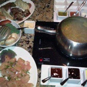 The Melting Pot various meats