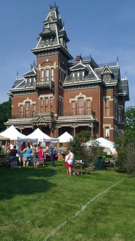 Strawberry Festival Victorian Mansion