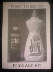 Pride & Joy joke