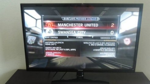 Manchester United game