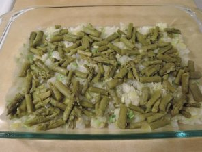 Proscuitto & Asparagus Strata