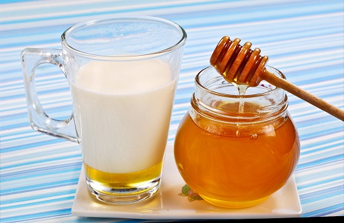 honey and milk for cough