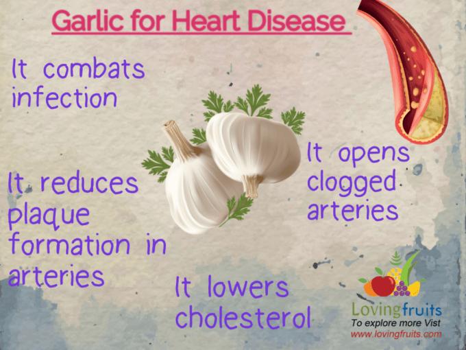Garlic for heart Disease