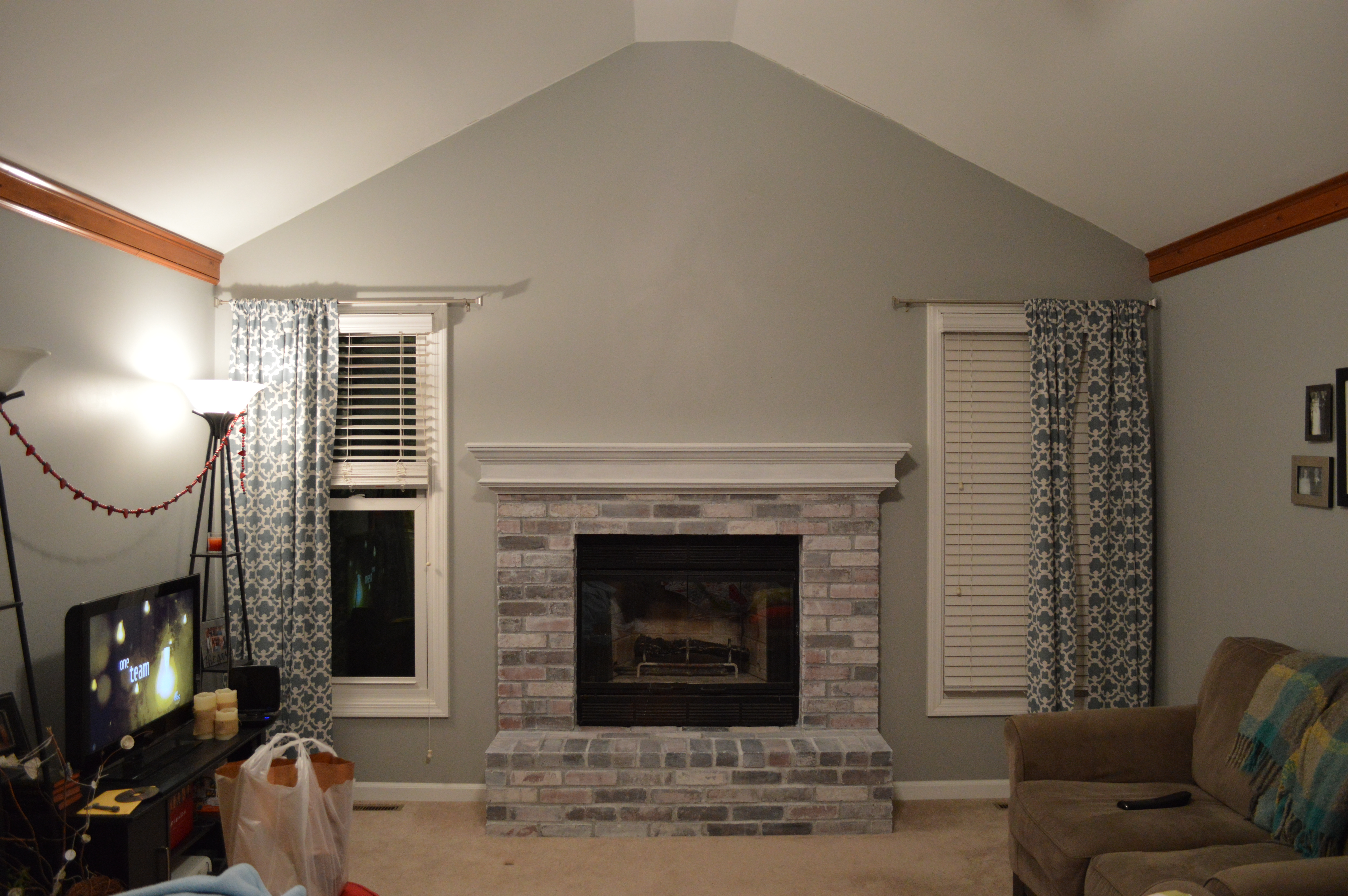 Painting Interior Brick Fireplace: To Paint Or Not To Paint, No Longer A Question
