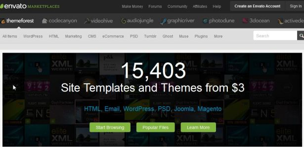 WordPress Themes Website Templates Create a Website ThemeForest - Jasa Pembelian TopUp deposit balance saldo themeforest