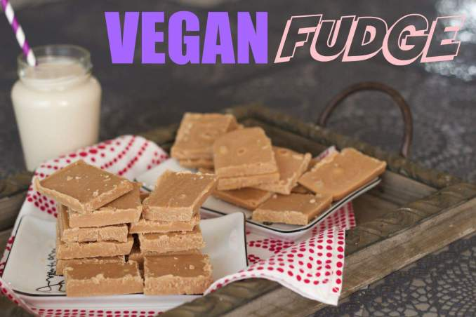 Vegan Fudge - Loving It Vegan