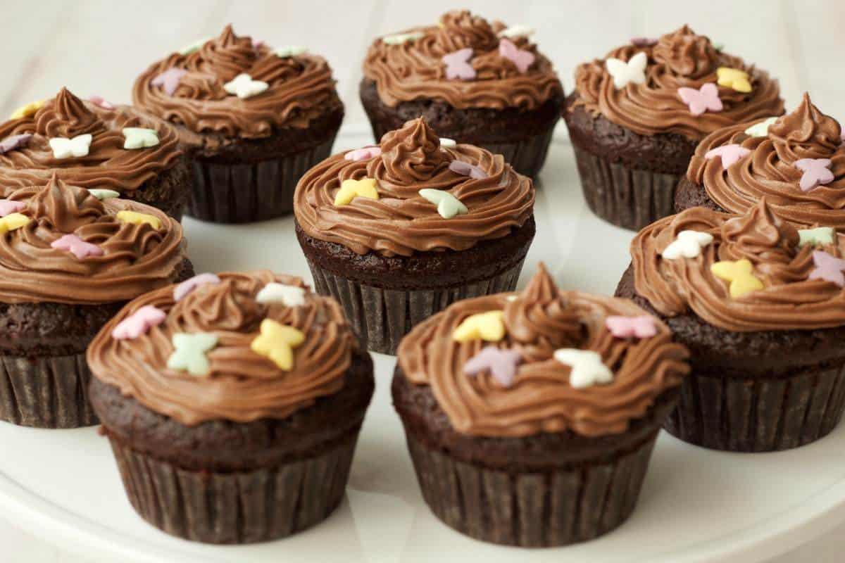 Gluten-Free Chocolate Cupcakes With Chocolate Buttercream