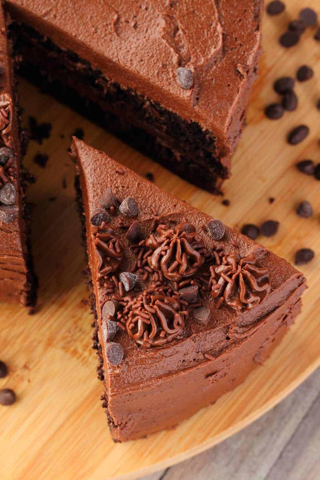 Vegan Chocolate Zucchini Cake Fudgy And Moist Loving