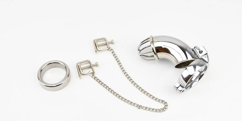 Clamps, Male Chastity and cock Rings