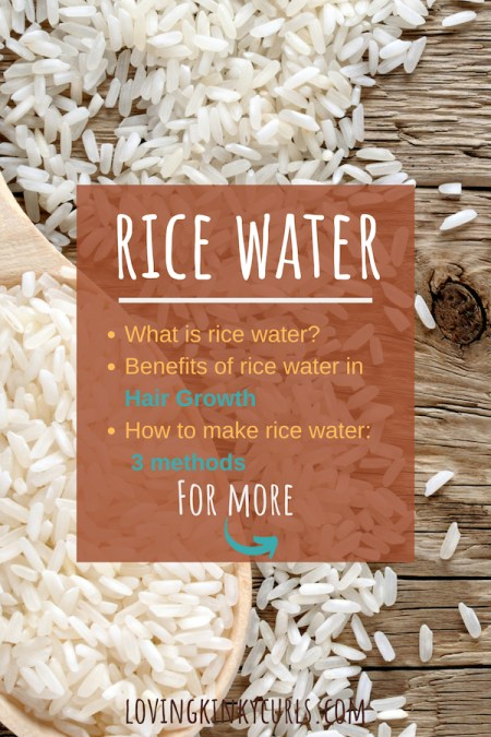 Rice Water for Natural 4C Hair Growth
