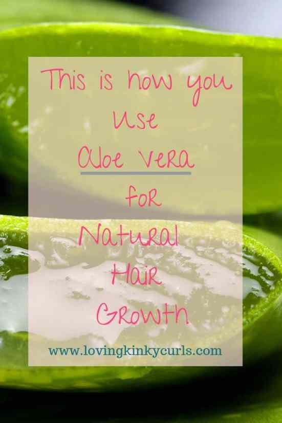 How to use Aloe Vera Juice for natural hair growth