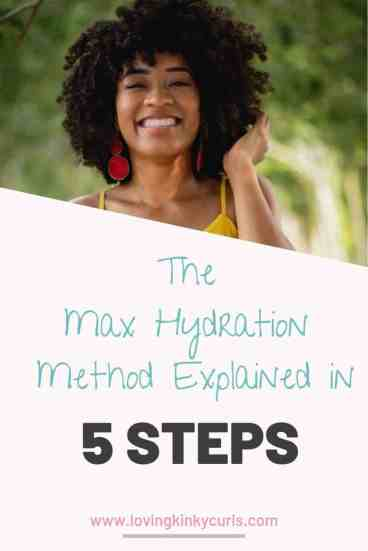 Max Hydration Method in 4c hair