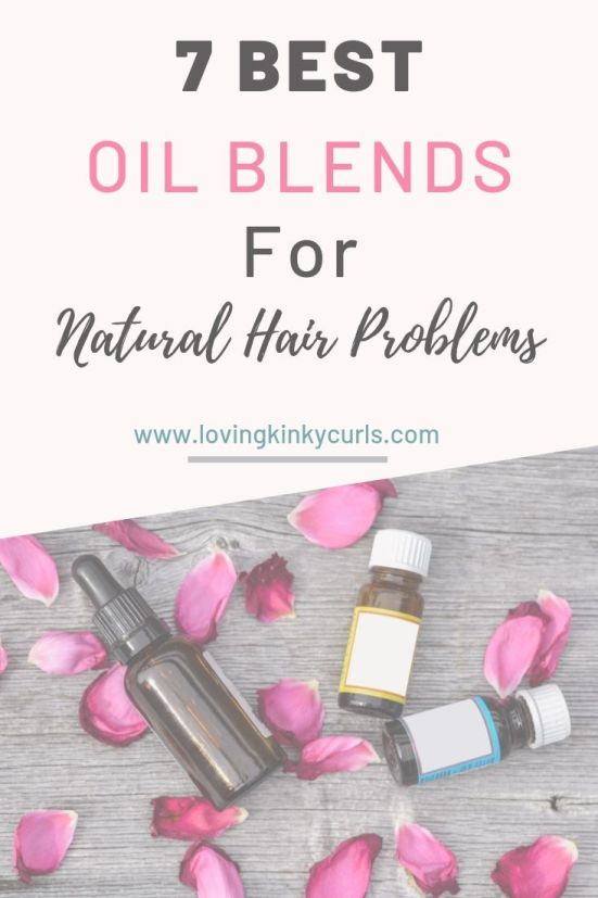 Oil Blend For Natural Hair Problems