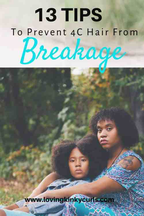 How to Prevent 4C Hair Breakage