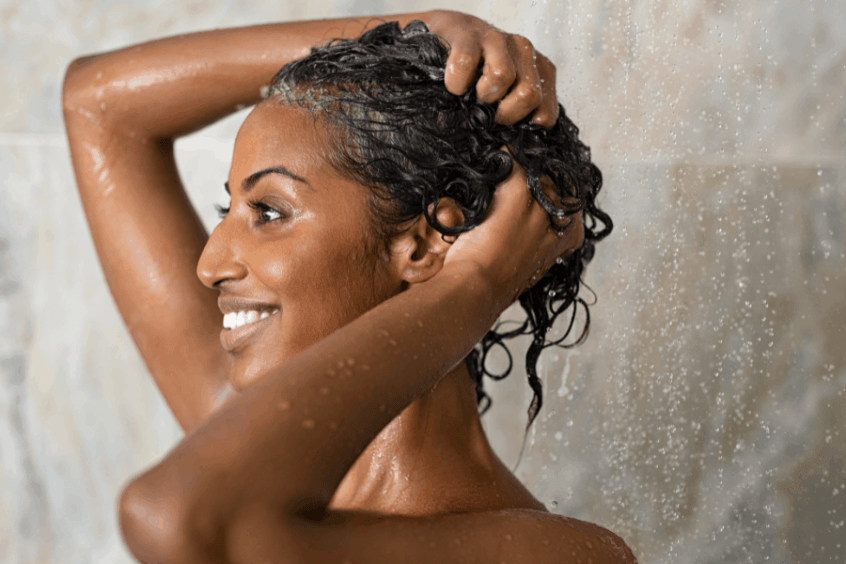 Conditioning the hair