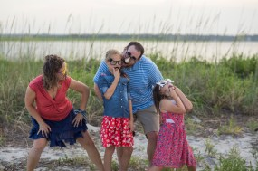 Family Photo Shoot_ Masonboro Island (2)