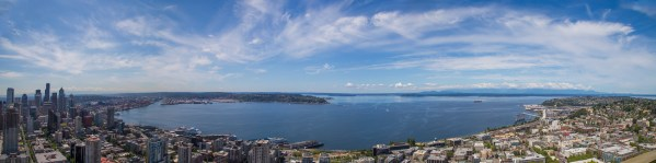 Panorama of Seattle From The Space Needle-19545022289