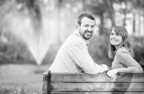 Ashton & Ryan's Engagement Photo Shoot at Greenfield Lake in Wilmington, NC November 2016. PHOTO BY: BRADLEY PEARCE