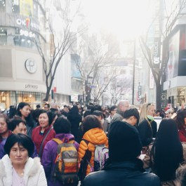 I guess Koreans love shopping, huh?