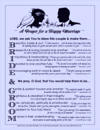Free Printable: Prayer for a Happy Marriage