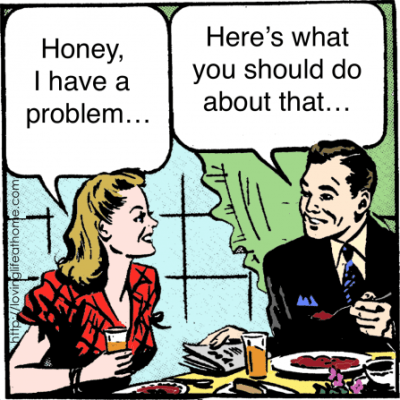 Is Your Husband a Problem Solver?