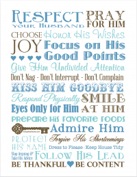 Love and Respect – Subway Art Printables