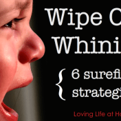 Wipe Out Whining