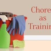 Chores as Training