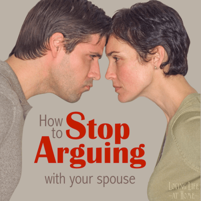 10 Ways to Stop Arguing with your Spouse