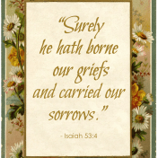 Griefs and Sorrows -- a Christian's perspective on current tragic events