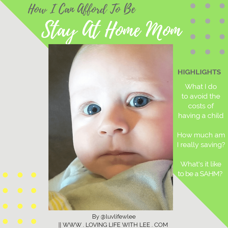being a stay at home mom