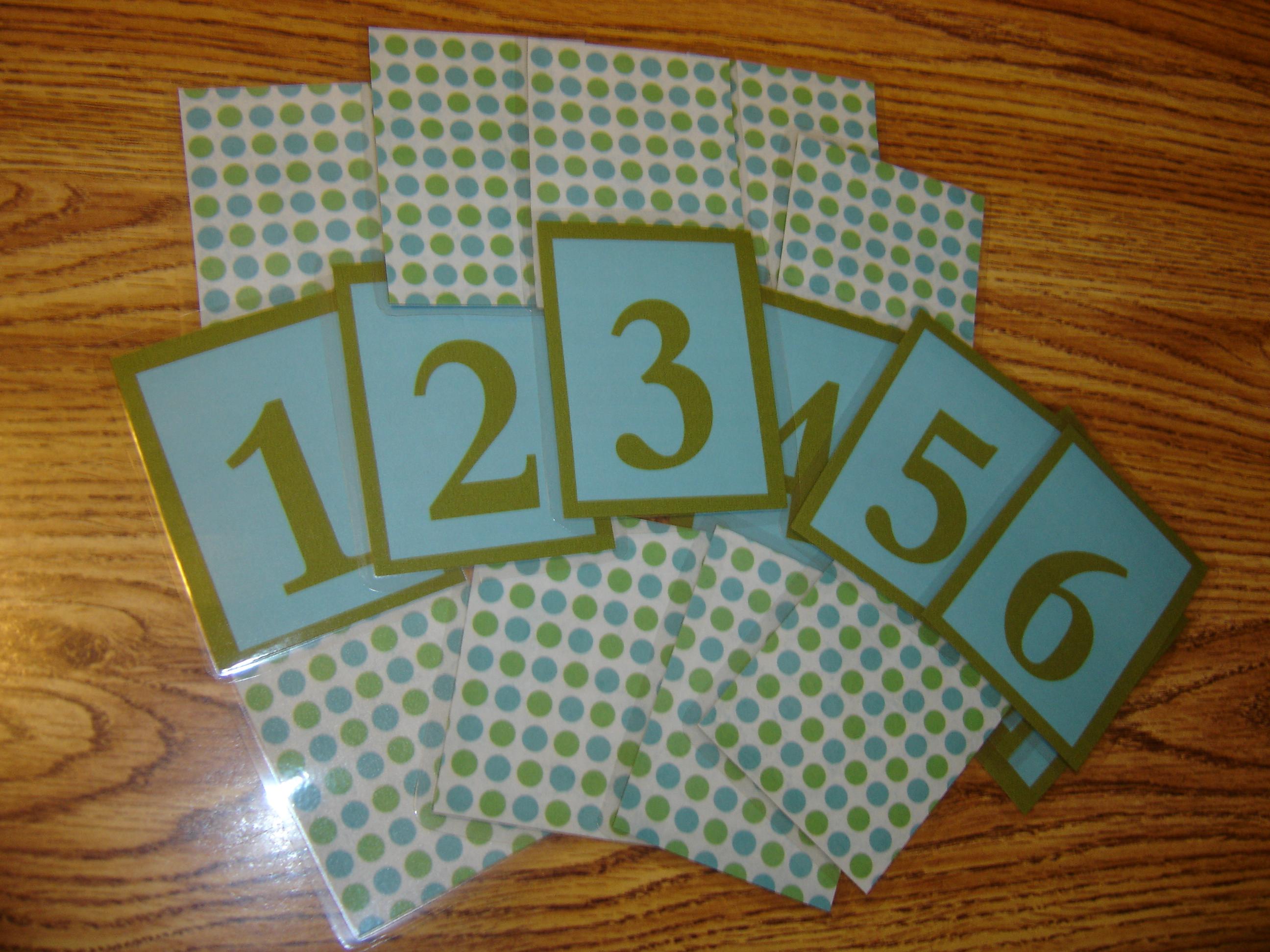 Diy Custom Numbers Cards Free Printable Number Cards