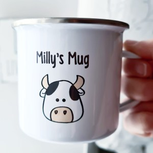 Personalised Enamel Mug