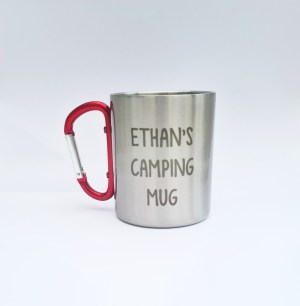 Personalised Stainless Camping Mug