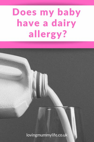 does your baby have a dairy allergy