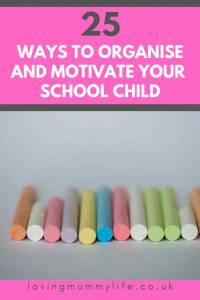 Organise and motivate my school child)