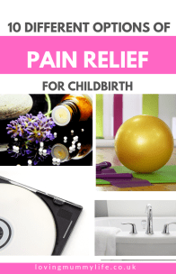 Pain relief for labour