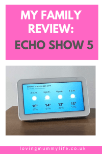 Alexa and the echo show