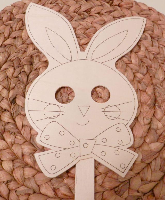 Bunny Wood Mask