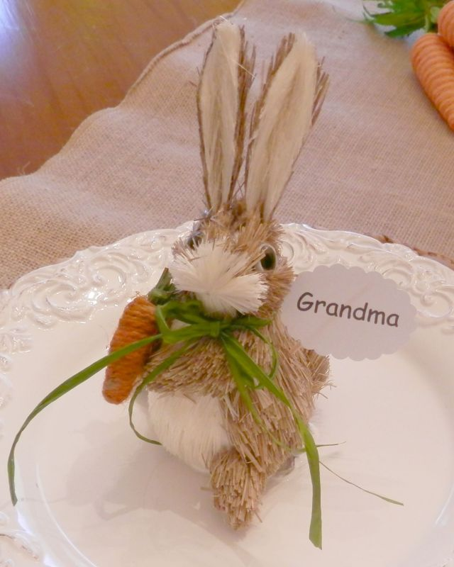 Bunny Place Setting