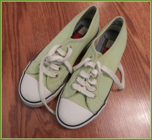 Lime Green Sneakers!