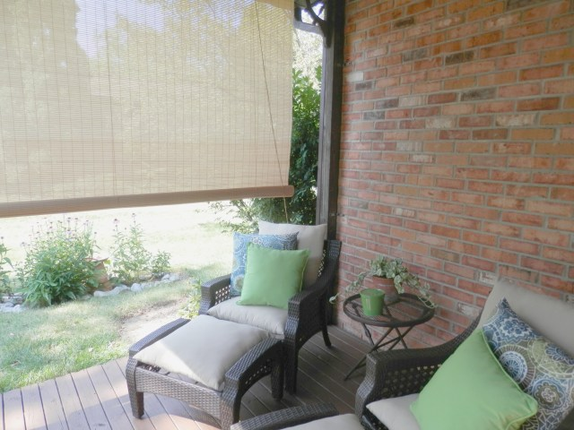 Back porch makeover!