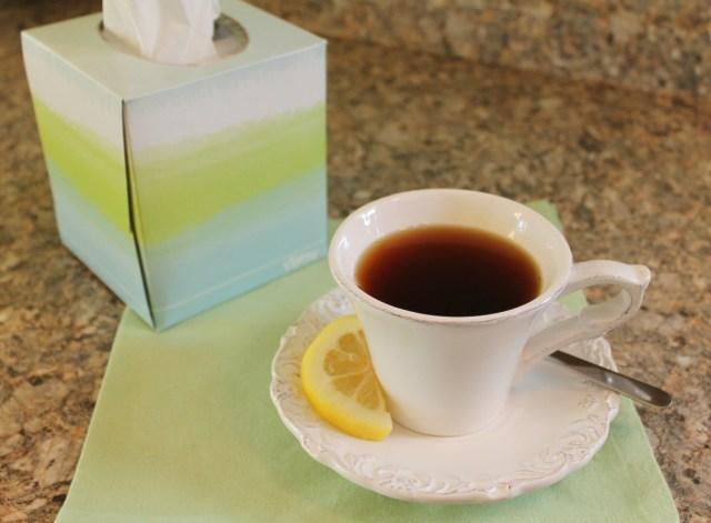 Tea and Kleenex