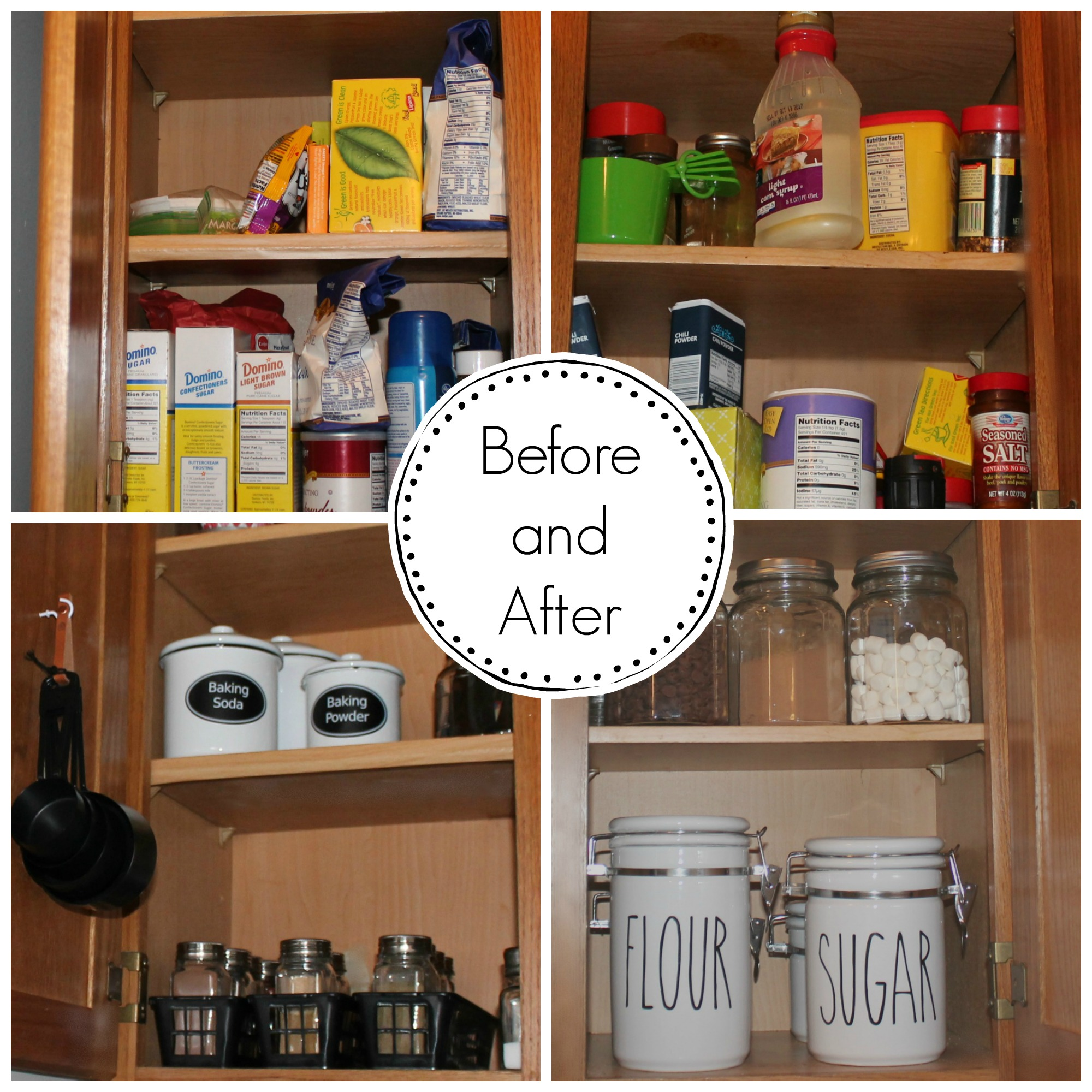 Organizing my kitchen cabinets loving my new simple life yikes workwithnaturefo