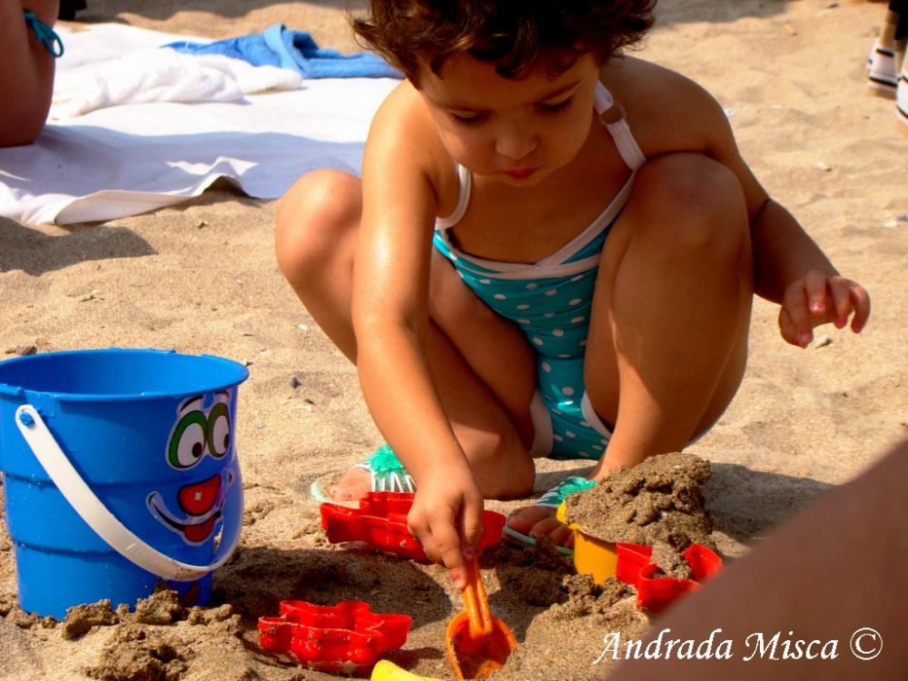 Children on the beach no 1